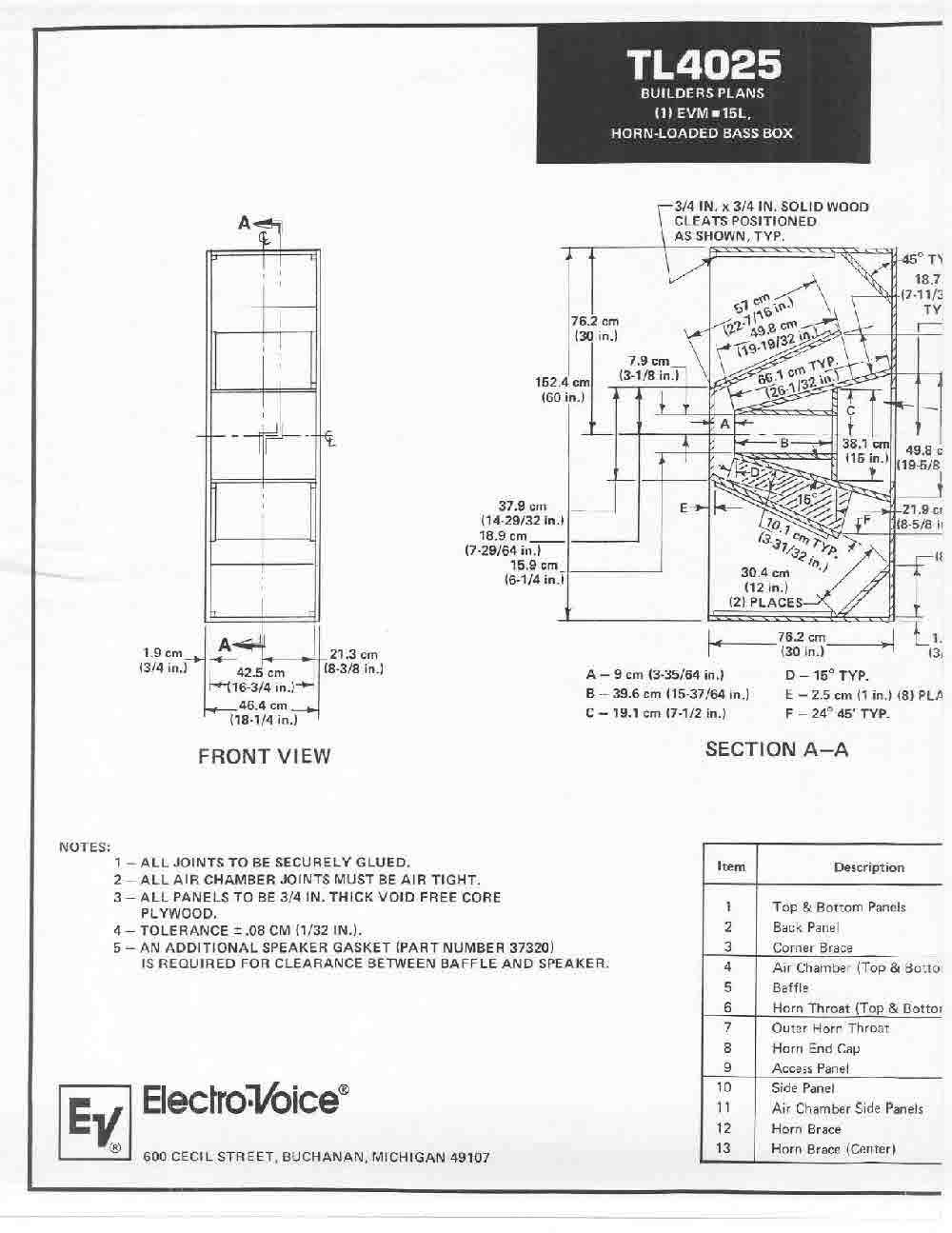 Bauplan ev eliminator Baupläne der